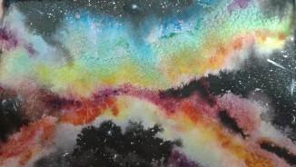 """Galaxy I"" - 8"" x 10"" - (SOLD)"