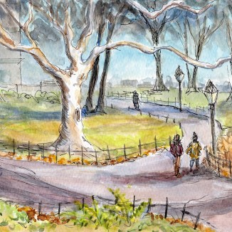 """Walk in the Park"" - [SOLD]"