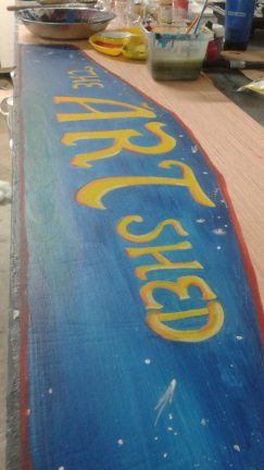 Custom Hand Painted Signage