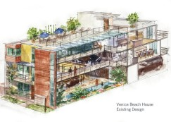 Architectural Rendering contracted for David Solomon