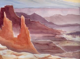 Desert at Dawn