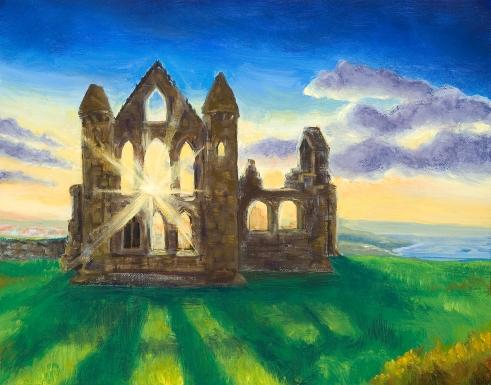"""Light Through the Ruins"""