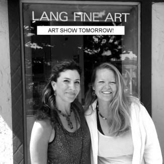 Showing with artist Lorien Eck