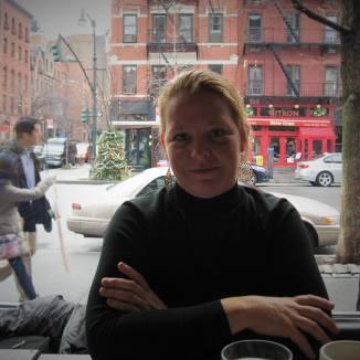 Cafe in New York